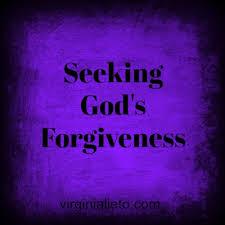 Seeking God Seeking God S Forgiveness During Lent