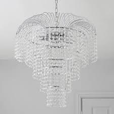 5052931036042 09i ceiling light chatelet chrome effect lamp