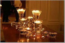 chic wedding candles centerpieces candle only centerpieces