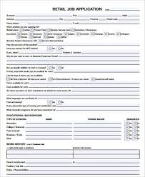 printable application for mployment printable job application