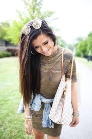 casual camo t shirt dress u2013 the sweetest thing