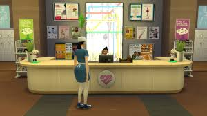 How To Build Reception Desk by Mod The Sims Florence Nightingale U0027s Memorial Hospital