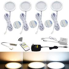 under cabinet led puck lighting led under cabinet puck lights cct light color temperature pack of