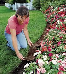 roll out flower garden weeds weeding gardener s supply