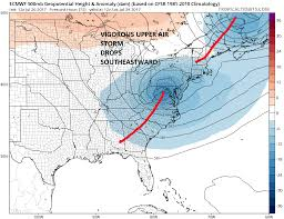 Long Island On Map Noreaster Conditions Growing More Likely Coastal New Jersey Long