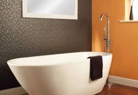 mirror delight freestanding oval bathroom mirror noticeable