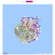 Google Map Puerto Rico by Data On Tour Plotting 3d Maps And Location Tracks