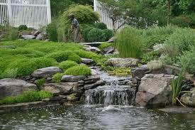 Rock Garden Waterfall Rock Water Garden Home Design Ideas And Pictures