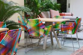 Kettal Outdoor Furniture Patricia Urquiola And Kettal Furnish The New Oasi Terrace Of The