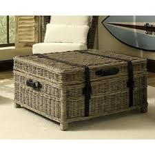 Wicker Trunk Coffee Table Wicker Chest Coffee Table Wayfair