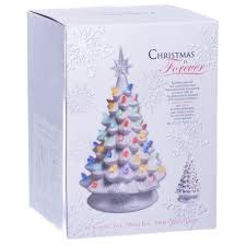 christmas ceramic christmas tree marvelous retro light up white