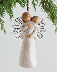 goddaughter christmas ornaments guardian angel willow tree