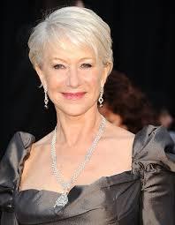 glamorous styles for medium grey hair helen mirren haircuts pinterest helen mirren grey hair
