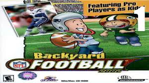 road to the super bowl backyard football 2002 ep 1 youtube