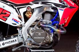honda motocross gear motocross action magazine inside the works honda hrc crf450 grand