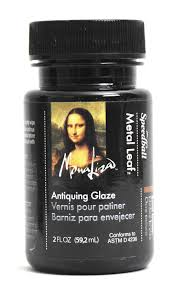 amazon com speedball mona lisa 2 ounce antiquing glaze for metal leaf