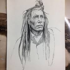 native american pencil drawings how to draw an native american