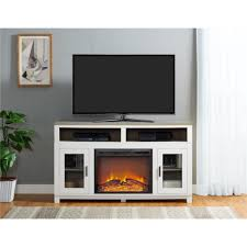 Menards Electric Fireplace Intriguing And Pleasant Fireplace Tv Stand Menards Meant For Home