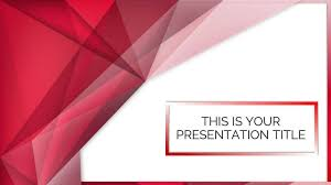 templates powerpoint abstract red abstract google slides powerpoint presentation templates