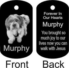 remembrance dog tags memorial tags keychains
