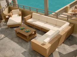 Free Outdoor Patio Furniture Plans by Stylish And Functional Outdoor Patio Furniture Sectional All