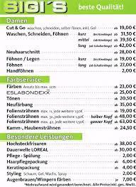 Hochsteckfrisurenen Preise by Preise Sigi