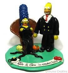 cake topper simpson addams family officine creative blogsp u2026 flickr