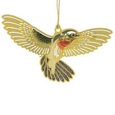 hummingbird ornament handcrafted in the usa item 55955