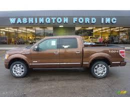 2011 golden bronze metallic ford f150 platinum supercrew 4x4