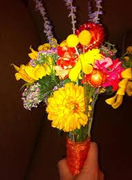 Frugal Flowers - real bride laura the frugal florist the broke bride bad
