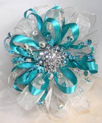 teal corsage teal corsage i made for s prom date teal and silver