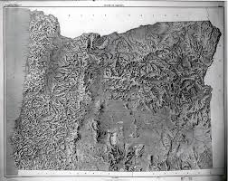 Southern Oregon Map by Cascade Mountain Range In Oregon
