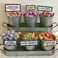 ideas for graduation party college graduation themed candy bar party college