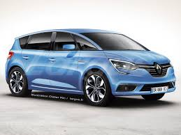renault scenic 2017 2016 renault scenic to go on sale in june 2016 rendering