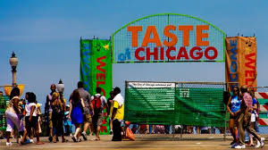 taste of chicago map 2017 taste of chicago line up revealed wfld