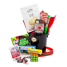 themed basket retro themed things tv show candy gift