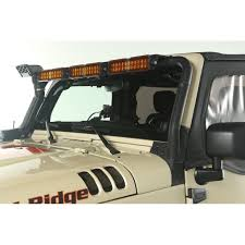 Led Lights For Jeeps Rugged Ridge 11232 26 Windshield Led Light Bar Kit 07 15 Jeep