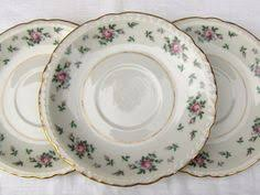 princess china sweet briar two handled bowl marked germany manufacturer germany color gold