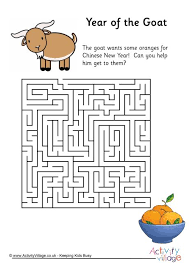 chinese new year puzzles for kids