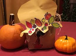 diy fall craft paper bag scarecrow tyndale blog