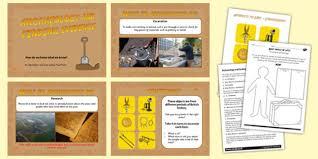 ks2 history archaeology and finding evidence lesson teaching