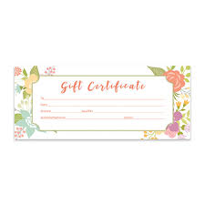 17 babysitting gift certificate template free ms word