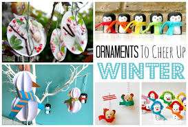 winter ornaments diy ted s