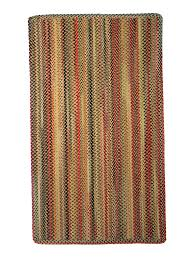 gold portland braided rug cottage home