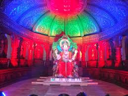 lights can add magical effect to your ganpati decoration bharat