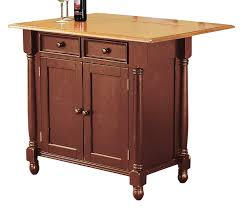 amazon com sunset trading kitchen island with light oak drop leaf