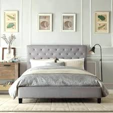 Padded Headboard King Grey Upholstered Headboard King Large Size Of King Size