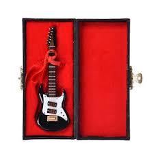 new miniature guitar musicial ornament decor gift craft mini
