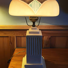 vintage art deco style lamps collectors weekly