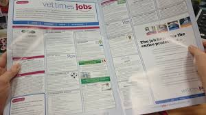 cover letter articles and careers information on vet times jobs